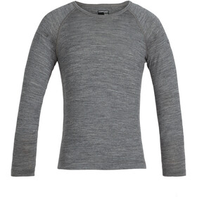 Icebreaker 200 Oasis LS Crew Top Kids, gritstone heather